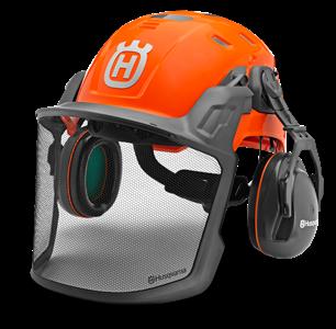 Ochranné přilby, ochrana sluchu, zraku